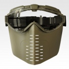 Genuine Tokyo Marui PRO-Goggle Full Face Version with Fan - Tan