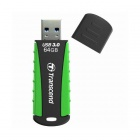 Transcend 64GB JetFlash 810 USB 3.0 Flash Drive Grön