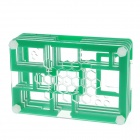 PI03 Protective 9-Layer Acrylic Case Enclosure Box for Raspberry PI - Transparent +  Green