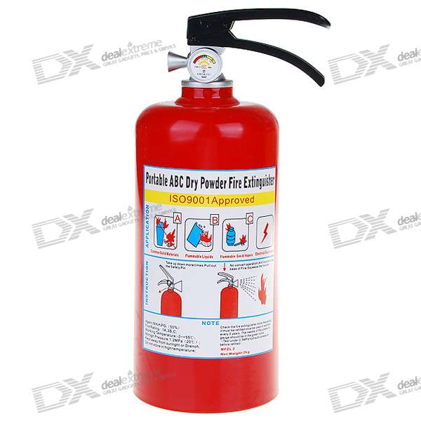 Fire Extinguisher Shaped Coin Bank