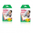 Genuine Fujifilm INSTAX MINI Twin Pack Instant Film x 2 box (10 sheets per pack x 2 packs per box)
