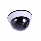 IPCC IPCC-H04 1.0 MP Mini Built-in Wireless P2P Onvif IP Dome Camera w/ 22-IR LED - White