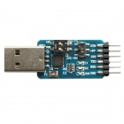 6-in-1 Multifunction USB 2.0 to CP2102 TTL RS485 RS232 6-Pin Module Serial Converter - (3.3 / 5V)