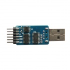 6-in-1 monitoimilaite USB 2.0 CP2102 TTL RS485 RS232 6-Pin moduuli serial converter - (3,3 / 5 V)