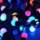 Multi-Color RGB 50-LED de Navidad / Decoración Luces cadena (5-Meter/220V AC)