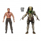 "Geniune NECA Predator 7""Action Figure Series: Alan Dutch Sheaffer & Jungle hunter predator 53502"