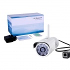 GIEC GIEC - H03 1.0 MP Mini Wireless P2P Onvif Etanche Caméra IP Bullet w / LED 18 IR - Blanc