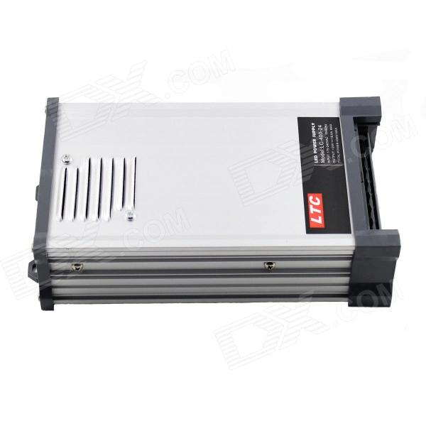 LTC LC-400-24 Waterproof AC 180~250V to DC 24V 16.6A 400W Switching Power Supply - Silver switching power supply 350w 15v 23a single output watt power supply for led strip ac110v 220v transformer to dc 15v