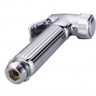 Fashionable Toilet Copper Supercharged Small Shower Head - Silver