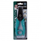 Pro'skit 8PK-3002D AWG20/18/16/14/12/10,0.8~2.6mm Electronic Wire Stripper w/ Hanging Ring  - Green