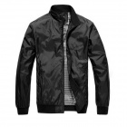 JK0089 Stylish Men's Slim Casual Jacket - Black (Size-L)