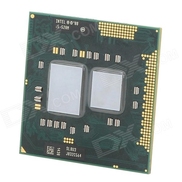Intel Core i5 520M Dual-core 2.4GHz LGA1155 32nm 25W CPU - Deep Green + Silver k56ca laptop motherboard for asus i5 cpu k56cm rev2 0 gm integrated mainboard tested well before shipping
