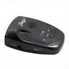 c-808 360 Degree Radar Laser Detector - Black