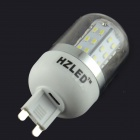HZLED G9 4W 350lm 48 x SMD 3014 LED Cold White Light Corn Lamp 85~265V