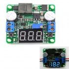 MaiTech Integrated Voltmeter / Step-up / Down Power Supply Module - Green (Blue Display / 5~25V)