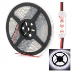 HML IP68 Waterproof 72W 6000lm 300-SMD 5050 LED White Light LED Strip w/ Mini Controller