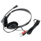 OVLENG OV-L900MV 3.5mm Wired Stereo Headphone w/ Microphone - Black