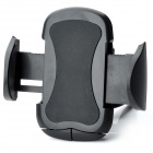 CF01-B+C1 360 Degree Rotatable Car Air Vent Stand Holder for GPS + Cell Phone - Black
