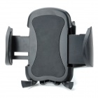CF02-B+C1 360 Degree Rotatable Car Air Vent Stand Holder for GPS + Cell Phone - Black
