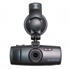 "Ambarella A7 2.7"" TFT CMOS Wide Angle Car DVR w/ GPS / Super HD 2304 x 1296 / Mini HDMI - Black"