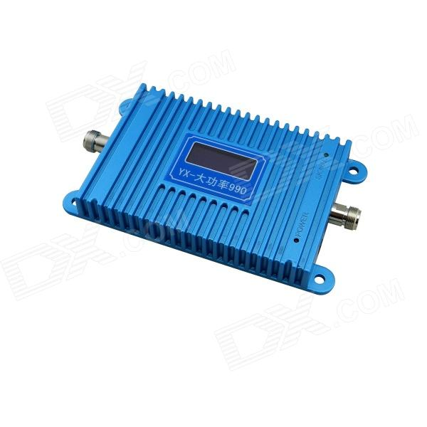 YX990 4.5 LCD 900MHz GSM950 890~915MHz / 835~960MHz Cell Phone Signal Booster Amplifier - Blue universal nylon cell phone holster blue black size l