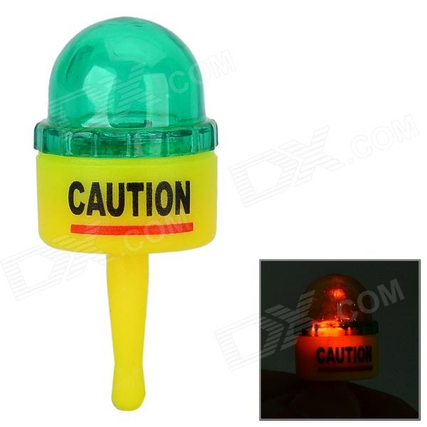 Warning Light Style LED 3.5mm Anti-dust Plug for IPHONE + More - Yellow + Green
