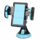 JHD-12HD36 Universal Car Holder Mount For Cellphone - Black + Blue