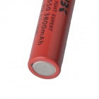 LS-18650 Rechargeable 3.7V 800mAh 18650 Li-ion Battery - Red