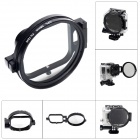 Fat Cat 58mm CPL Circular Polarizer Lens Filter for GoPro Hero 3 Housing w/ Flip Converter - Black