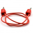 MaiTech Stacked Banana Plug to Banana Plug Test Line - Red (50cm-Cable)