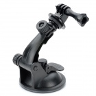 TOZ Plastic Camera Stand Holder w/ Suction Cup for Gopro Hero 4/ 2 / 3 - Black