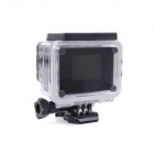 "ESER F23 1.5"" LCD 12.0 MP 170 Degree Wide Angle Outdoor Waterproof Mini Sport Camera - Black + Blue"