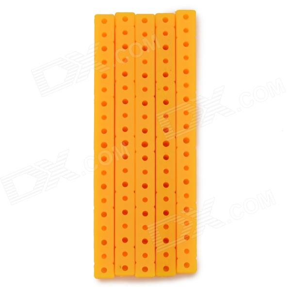 ZT-5 ABS Multifunction Jointing / Assembling Bars / Rods for DIY Model Toy - Saffron (5 PCS)Other Accessories for R/C Toys<br>Form ColorSaffronModelZT-5MaterialABSQuantity5 DX.PCM.Model.AttributeModel.UnitCompatible ModelDIY model assemblingPacking List5 x Bars<br>