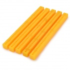 ZT-5 ABS multifunctionele voegwerk / Monteren Bars / Rods voor DIY Model Toy - Saffron (5 PCS)