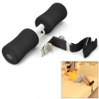 Stainless Steel + Sponge + Nylon Crunch Feet Press Tool - Black