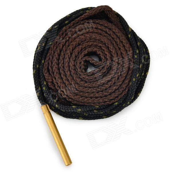 LSON Copper + Canvas Gun Barrel Cleaning Cord / Strap - Brown + Black (180cm)