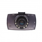 "T660 2.7"" TFT 5.0 MP 1080P Full HD 170-Degree Wide Angle Car DVR Recorder - Black"