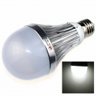 ZHISHUNJIA ZSJ-3168 E27 7W 700lm 6500K 7-LED White Light Lamp Bulb - Silver + white (AC 85~265V)