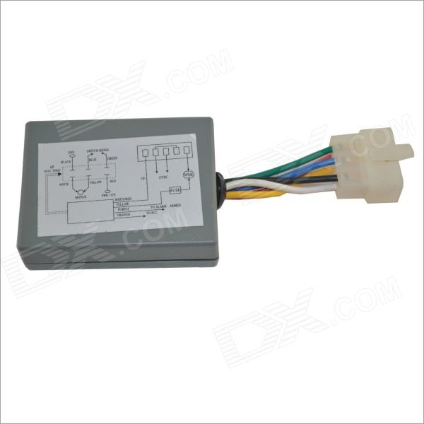 PWTR-A181D Auto Car Power Window Motor Close Control Module w/ One Touch Function - Gray (12V)