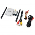 RC5808 200mW 5.8GHz Audio / Video Transmitter + Receiver for 8-CH R/C Helicopter - Silver + Yellow
