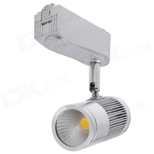 KX-COB48B-71 7W 630lm 3000K COB LED Warm White Track Light - Silver (AC 85~265V) led track light50wled exhibition hall cob track light to shoot the light clothing store to shoot the light window