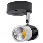 KX-COB48A-51 5W 450lm 3000K COB LED blanco caliente Track Light-Blanco + Negro (AC 85 ~ 265V)
