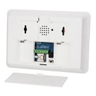 Wireless GSM / SMS / RFID Quad Band 850/900/1800/1900MHz Intercom Home Security Alarm System - White