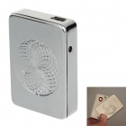 1917 Aluminum Alloy Magic Ring USB Rechargeable Lighter - Silver (5V)