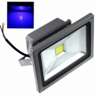 ZHISHUNJIA 20W 1600lm COB LED Blue Light Projection Advertising Photography Lamp - (85~265V)