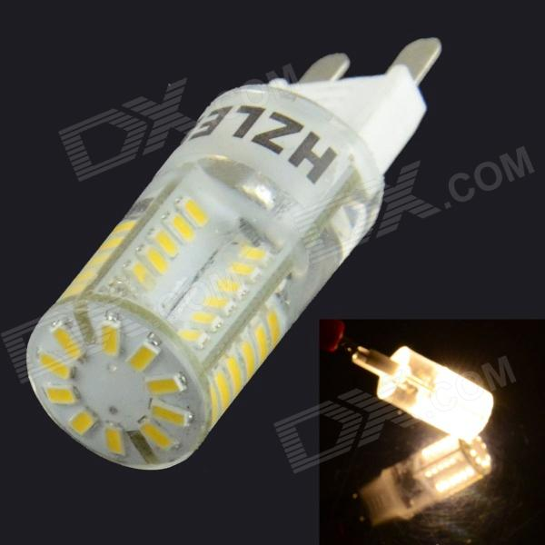 HZLED G9 2W 200lm 3000K 58 x SMD 3014 Lampe à LED Hot White Light - Blanc (220V)