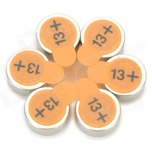 NEXCELL A13 PR48 Japan Import Hearing-aid Button Cell - Silver (6 PCS) bilingualism as teaching aid