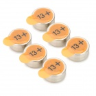 NEXCELL A13 PR48 Japan Import Hearing-aid Button Cell - Silver (6 PCS)