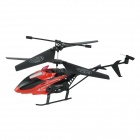 Brilink BH03 2-CH Rechargeable Indoor IR Remote Control Helicopter - Red