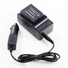 Panasonic DMW-BLC12 1200mAh Replacement Battery + Charger for Panasonic DMC-GH2 - Black